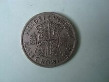 1948 HALF CROWN GEORGE VI COIN (CIRCULATED)