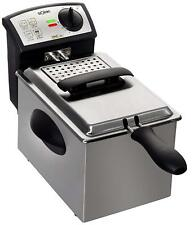 Solac FM6721 - Freidora profesional 2 L Acero inoxidable lavable en lavavajillas