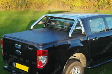 Ford Ranger T6 Soft Tonneau Cover and Roll Bar Combo 2012 Onwards D/C