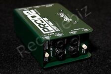 NEW! Radial Engineering ProD2 Stereo Passive Direct Box Pro DI