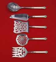 Damask Rose by Oneida Sterling Silver Brunch Serving Set 5-Piece Custom Made