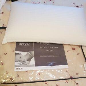 Dunlopillo standard latex pillow RRP £85
