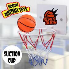 Mini Basketball Indoor Hoop Board Net Ring Hanging Basket Office Bath Shower Toy