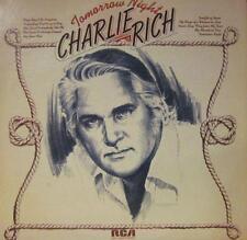 Charlie Rich(Vinyl LP)Tomorrow Night-RCA Victor -APL 1025-USA-VG+/VG