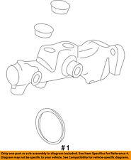 FORD OEM-Brake Master Cylinder CT4Z2140A