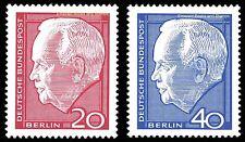 EBS West Berlin 1963 President Heinrich Lübke Michel 234-235 MNH**
