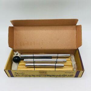 JW Stannard By Figi Hand Tuned Wind Chimes 3 Tone Energy Hardwood