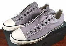 Converse John Varvatos Vintage Slip On Sneaker Pewter Grey Mens Shoe A0423 US 13