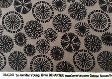 Benatex - Origins By Jennifer Young P797 Grey - 100% Cotton