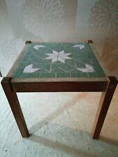 DDR Blumentisch-Blumenhocker- Mosaico Stones 60-70er Anni