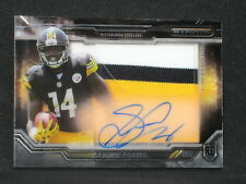 Sammie Coates 2015 Topps Strata Autograph 3Color Jersey Patch Pittsburgh Steeler