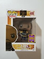 Funko POP! SDCC 2017 Summer Convention Exclusives The Walking Dead AMC T-Dog
