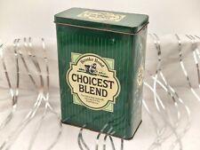 More details for brooke bond choicest blend-vintage tea tin/caddy