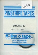 """Line O Tape 3/32"""" x 120"""" Pinstripe Masking Tapes LH65 / Clear Blue #PS66"""