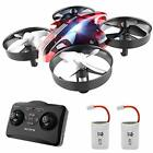 Mini Drone for Kids and Beginners,Portable Remote Control RC Quadcopter red