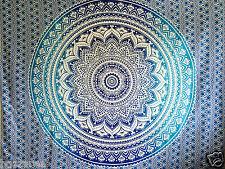 Tapisserie Indienne wall hanging MANDALA throw hippie gypsy bohème dortoir DECO couverture