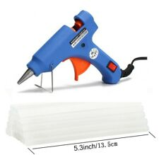 Hot Melt Glue Gun with 7mm Sticks for DIY Small Craft Projects Quick Repair 20W