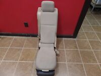 10 11 12 FORD F-150 FRONT BUCKET CONSOLE SEAT OEM TAN CLOTH STREET ROD