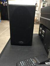 Polk Audio RT 128 Black Bookshelf Speakers with Back Power Port Used