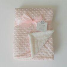 Linge de lit rose pour bébé couffin