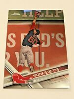 2017 Topps Chrome Baseball #199 - Mookie Betts - Boston Red Sox