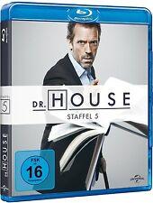 DR. HOUSE, Staffel 5 (5 Blu-ray Discs) NEU+OVP