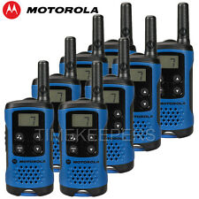 4 Km Motorola TLKR T41 Walkie Talkie 2 Dos Vías PMR 446 compacto radio de ocho