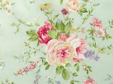 Patchworkstoffe Stoffe Lecien Rosenstoffe rote pink gelbe Rosen zart grün BW