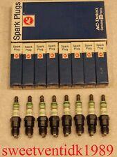 'NOS' AC-R45TS Spark Plugs.......4 Green Rings......GM Vehicles...etc