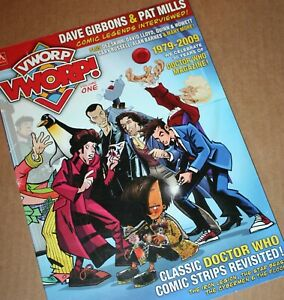 Doctor Who VWORP VWORP Volume 1 Magazine RARE NEW Comics and Classics revisited!