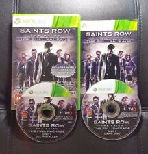 Saints Row The Third The Full Package (Microsoft Xbox 360, 2012) Xbox 360 Game