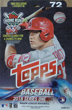 2018 Topps Baseball 1 Series One Factory Sealed Hanger Box EXCLUSIVE LEGENDS