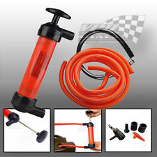 Transfer Syphon Air Extractor Pump Oil Water Fuel Fluids Removal Garden pond
