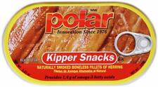Mw Polar Herring, Kipper Snacks, 3.53-Ounce (18 Pack) Naturally Smoked Bpa Free