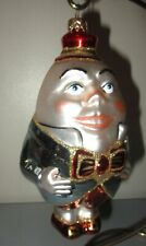Polonaise Kurt Adler Star Humpty Dumpty Komozja Glass Christmas Ornament Mint!