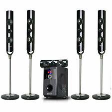 Befree Sound 5.1 Channel Home Surround Sound Speaker System Bluetooth Streaming