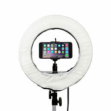 "Prismatic 14"" Mini Halo Diva Ring Light for Beauty Blogging and Selfies"