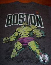 BOSTON CELTICS NBA THE INCREDIBLE HULK MARVEL COMICS T-Shirt MEDIUM NEW