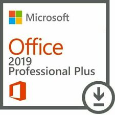 Microsoft Office Ms Office 2019 Professional Plus Dvd 1 Pc License Genuine New