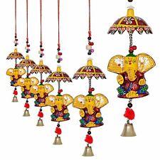 Indian Goddess Ganesh Ganesha Door Hanging Decorative Diwali Ornaments Lot 4 Pcs