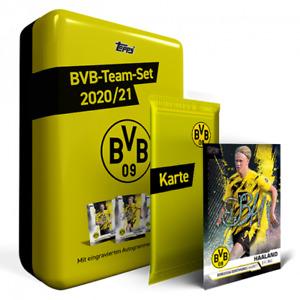 BVB-Team-Set nummerierte Parallel-Karte Chance of Youssoufa Moukoko Trading Card