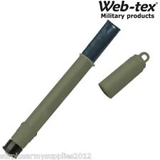 WEB-TEX ARMY SURVIVAL PURIFICATION DRINKING STRAW WATER FILTER PURE SAS HIKING