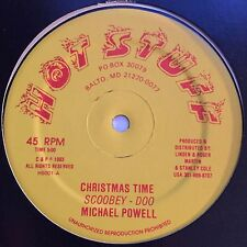 "Hot Stuff - Michael Powell / Scoobey Doo - Christmas Time / Dub - 12"" 45T NM ♫"