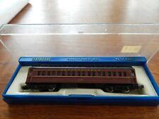 Bachmann N Scale Passenger Car 4311, 65' Standard coach lighted PENNSYLVANIA