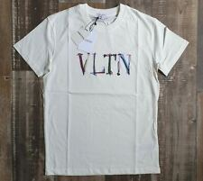 VALENTINO LIMITED TIME OFFER ** MEN`s T-SHIRT ** WHITE and BLACK COLORS **