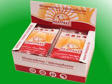 40 x Körperwärmer Thermopads Heizkissen Wärmepflaster HeatPaxx