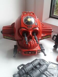 Action force ROBOSKULL vintage 83' Used See Pics.