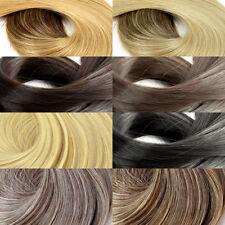 Extensions de cheveux à clips raides pour femme