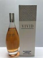 Vivid by Liz Claiborne 3.4 oz/100 ml Eau de Toilette Spray Women, As Imaged