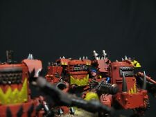 3 Ork KIlla Kans Painted Warhammer 40k Orks COMMISSION SERVICE